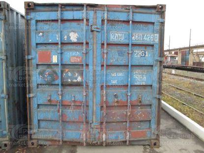 Изображение 20-футовый б/у контейнер №0604268