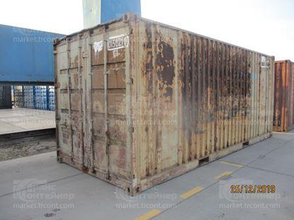 Изображение 20-футовый б/у контейнер №0150210