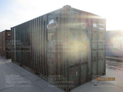 Изображение 20-футовый б/у контейнер №0298656