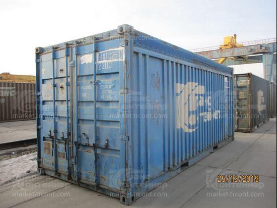 Изображение 20-футовый б/у контейнер №0590610