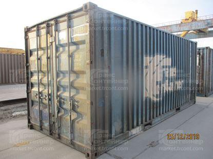 Изображение 20-футовый б/у контейнер №0730332