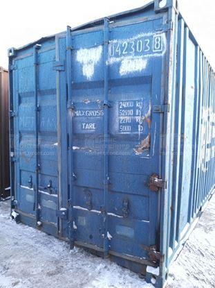 Изображение 20-футовый б/у контейнер №0423038