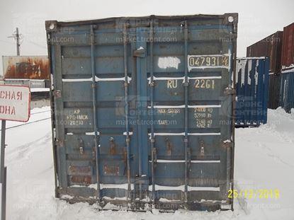 Изображение 20-футовый б/у контейнер №0479314