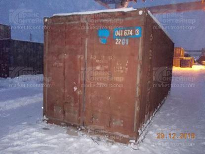 Изображение 20-футовый б/у контейнер №0416743