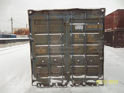Изображение 20-футовый б/у контейнер №0467592