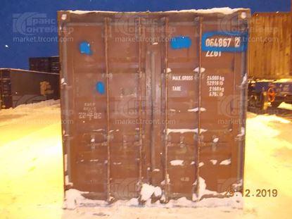 Изображение 20-футовый б/у контейнер №0648672