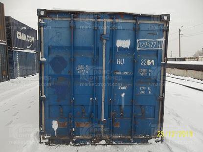 Изображение 20-футовый б/у контейнер №0294774