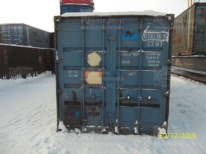 Изображение 20-футовый б/у контейнер №0133189