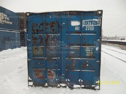 Изображение 20-футовый б/у контейнер №0136212