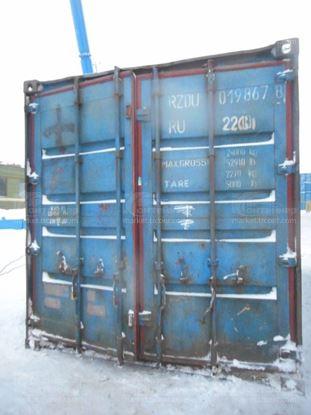Изображение 20-футовый б/у контейнер №0198678