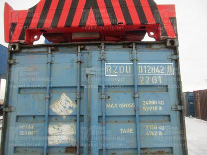 Изображение 20-футовый б/у контейнер №0128428