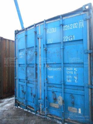 Изображение 20-футовый б/у контейнер №0262020