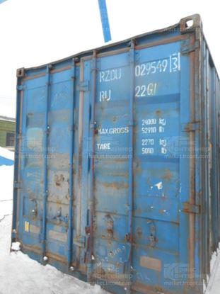 Изображение 20-футовый б/у контейнер №0295493