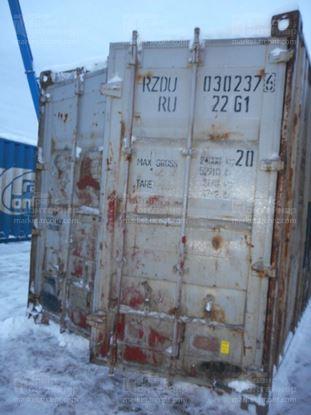 Изображение 20-футовый б/у контейнер №0302376