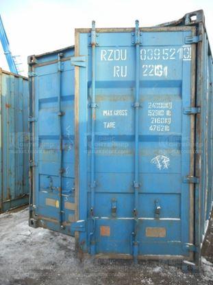 Изображение 20-футовый б/у контейнер №0395213