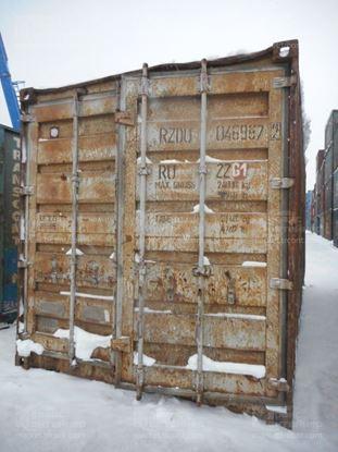 Изображение 20-футовый б/у контейнер №0469872