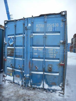 Изображение 20-футовый б/у контейнер №0515303