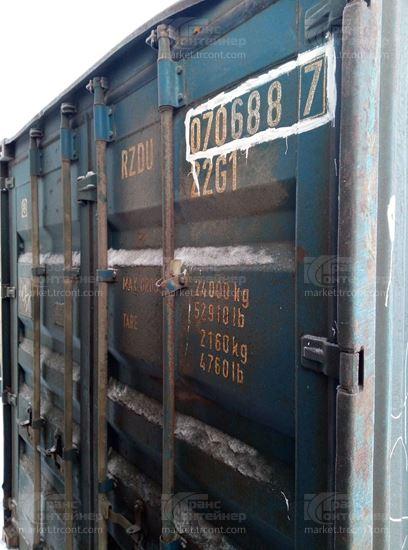 Изображение 20-футовый б/у контейнер №0706887