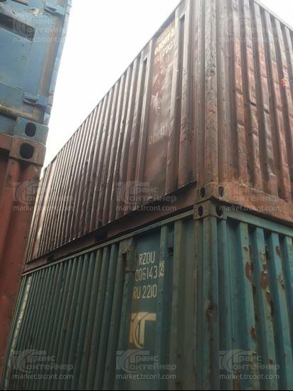 Изображение 20-футовый б/у контейнер №0300727