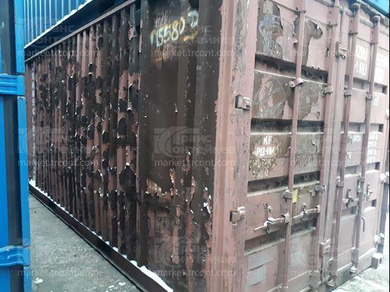 Изображение 20-футовый б/у контейнер №0155803