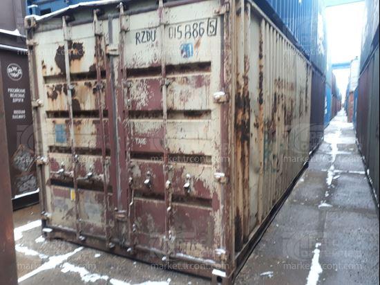 Изображение 20-футовый б/у контейнер №0158865