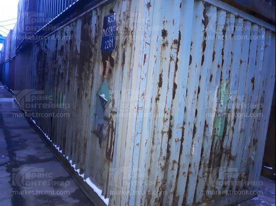 Изображение 20-футовый б/у контейнер №0165859
