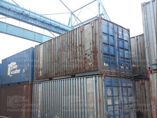 Изображение 20-футовый б/у контейнер №0196171