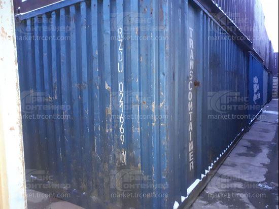 Изображение 20-футовый б/у контейнер №0216690