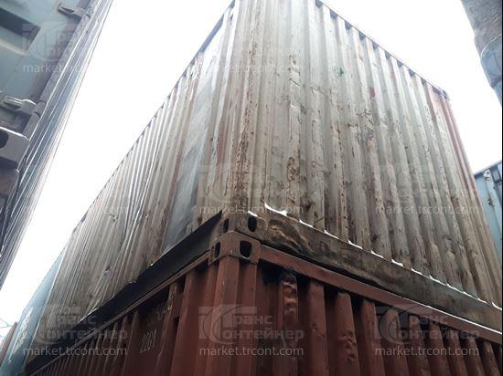Изображение 20-футовый б/у контейнер №0272796