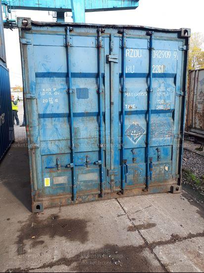 Изображение 20-футовый б/у контейнер №0429099