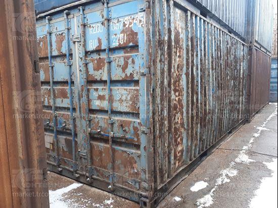 Изображение 20-футовый б/у контейнер №0579545