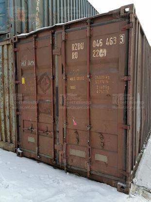 Изображение 20-футовый б/у контейнер №0464633