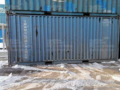Изображение 20-футовый б/у контейнер №0482827