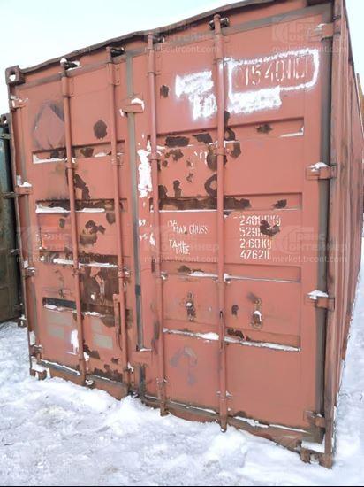 Изображение 20-футовый б/у контейнер №0154010