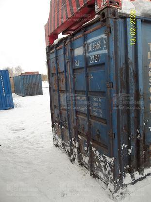 Изображение 20-футовый б/у контейнер №0035686