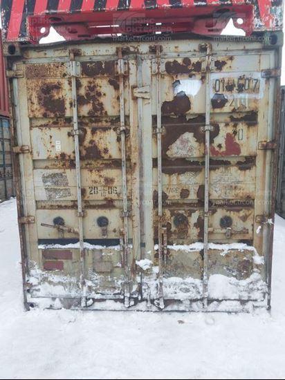 Изображение 20-футовый б/у контейнер №0111507