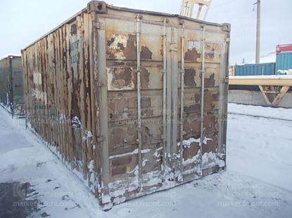 Изображение 20-футовый б/у контейнер №0077207