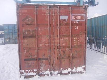 Изображение 20-футовый б/у контейнер №0270160