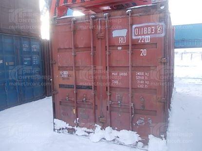 Изображение 20-футовый б/у контейнер №0118836