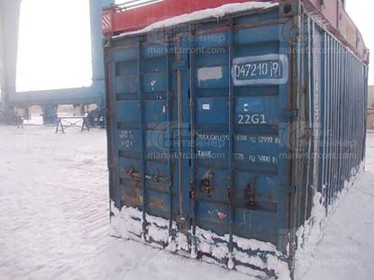 Изображение 20-футовый б/у контейнер №0472109