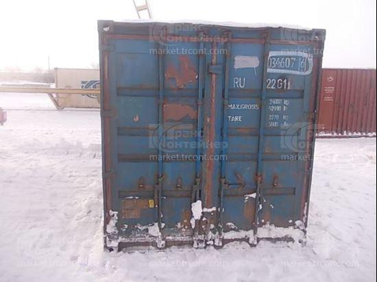 Изображение 20-футовый б/у контейнер №0346076
