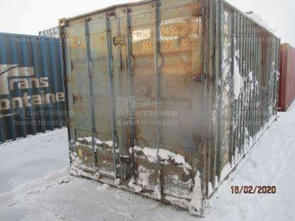 Изображение 20-футовый б/у контейнер №0459339
