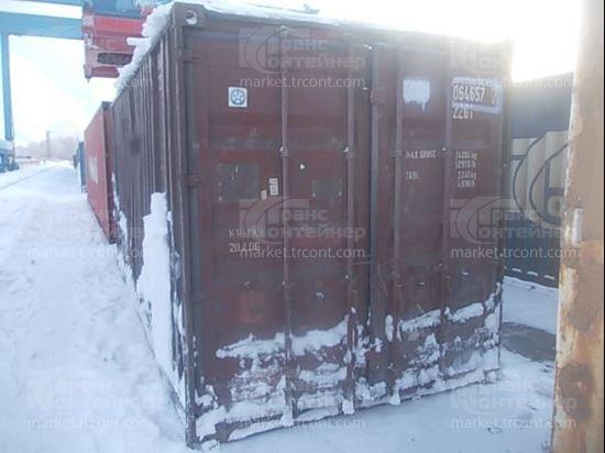 Изображение 20-футовый б/у контейнер №0646577