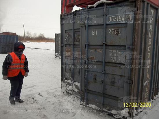 Изображение 20-футовый б/у контейнер №0621840