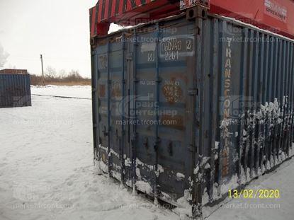 Изображение 20-футовый б/у контейнер №0609402