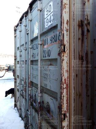 Изображение 20-футовый б/у контейнер №0119806