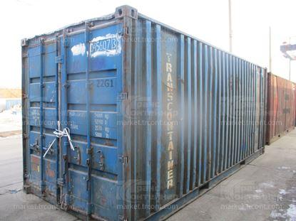 Изображение 20-футовый б/у контейнер №0456073