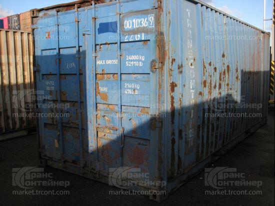 Изображение 20-футовый б/у контейнер №0010369