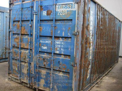 Изображение 20-футовый б/у контейнер №0015838