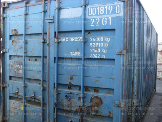 Изображение 20-футовый б/у контейнер №0018190